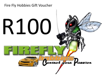 Fire Fly Hobbies R100 Gift Certificate